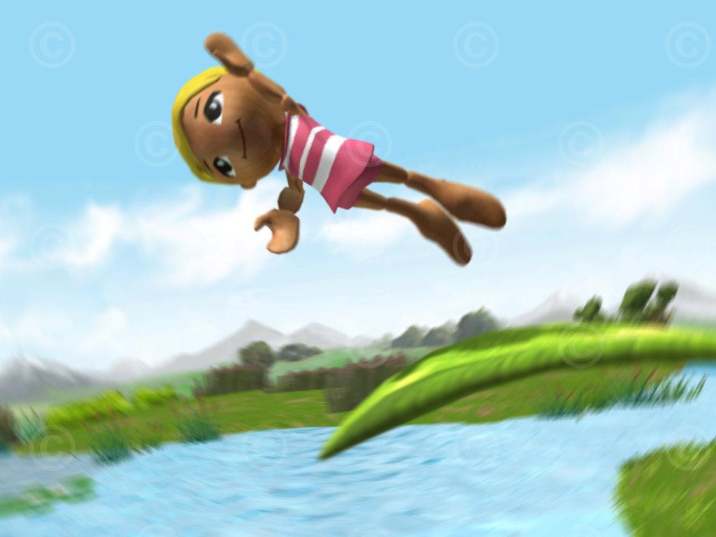 woodleys nds leaf jump