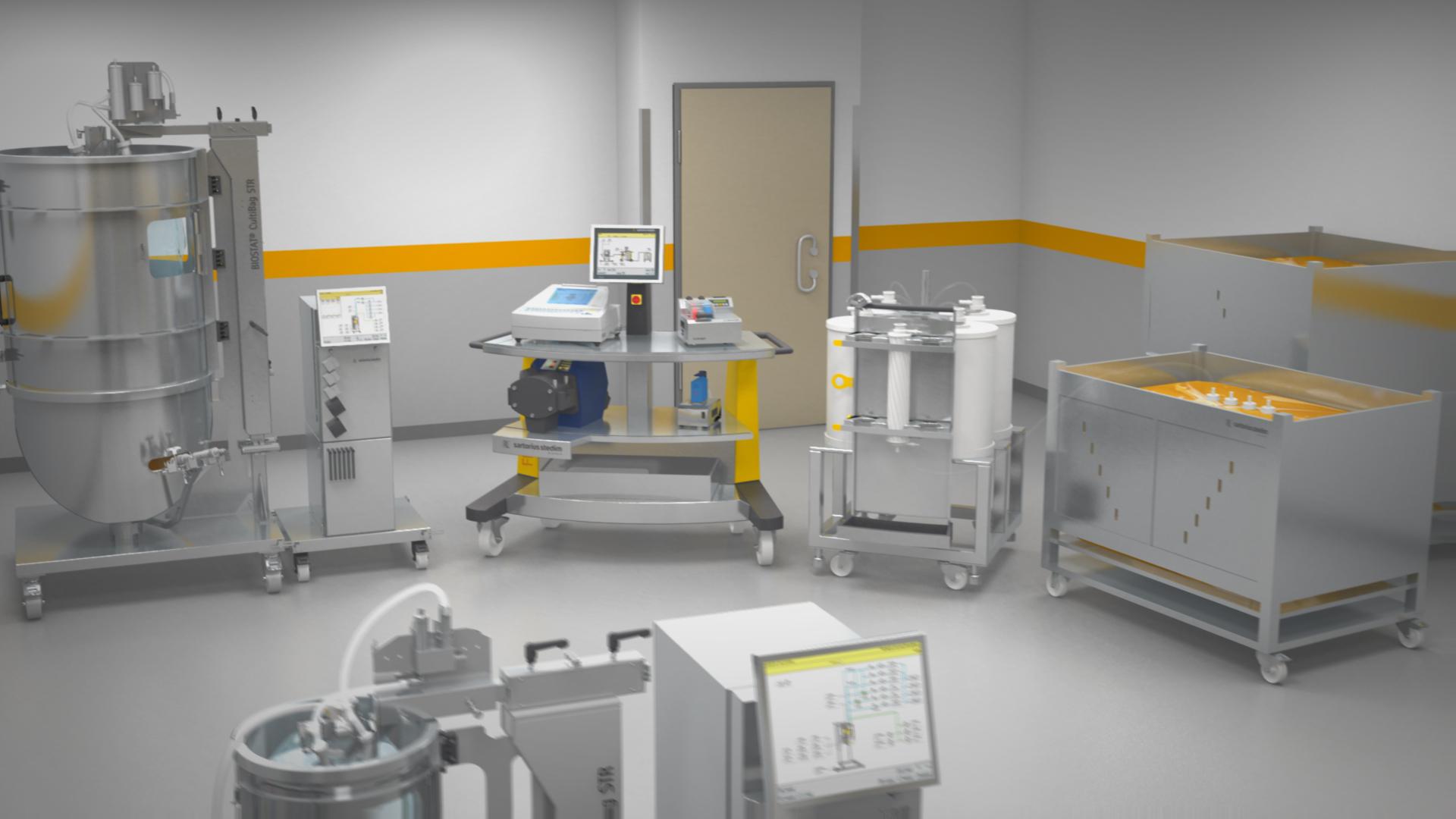 3D Animation Einsatz Laborgeräte