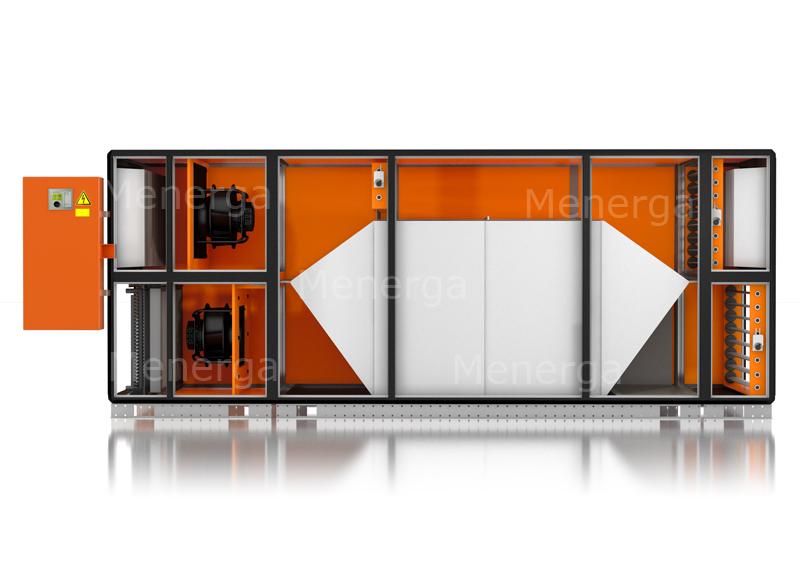 3D Visualisierung Klimagerät