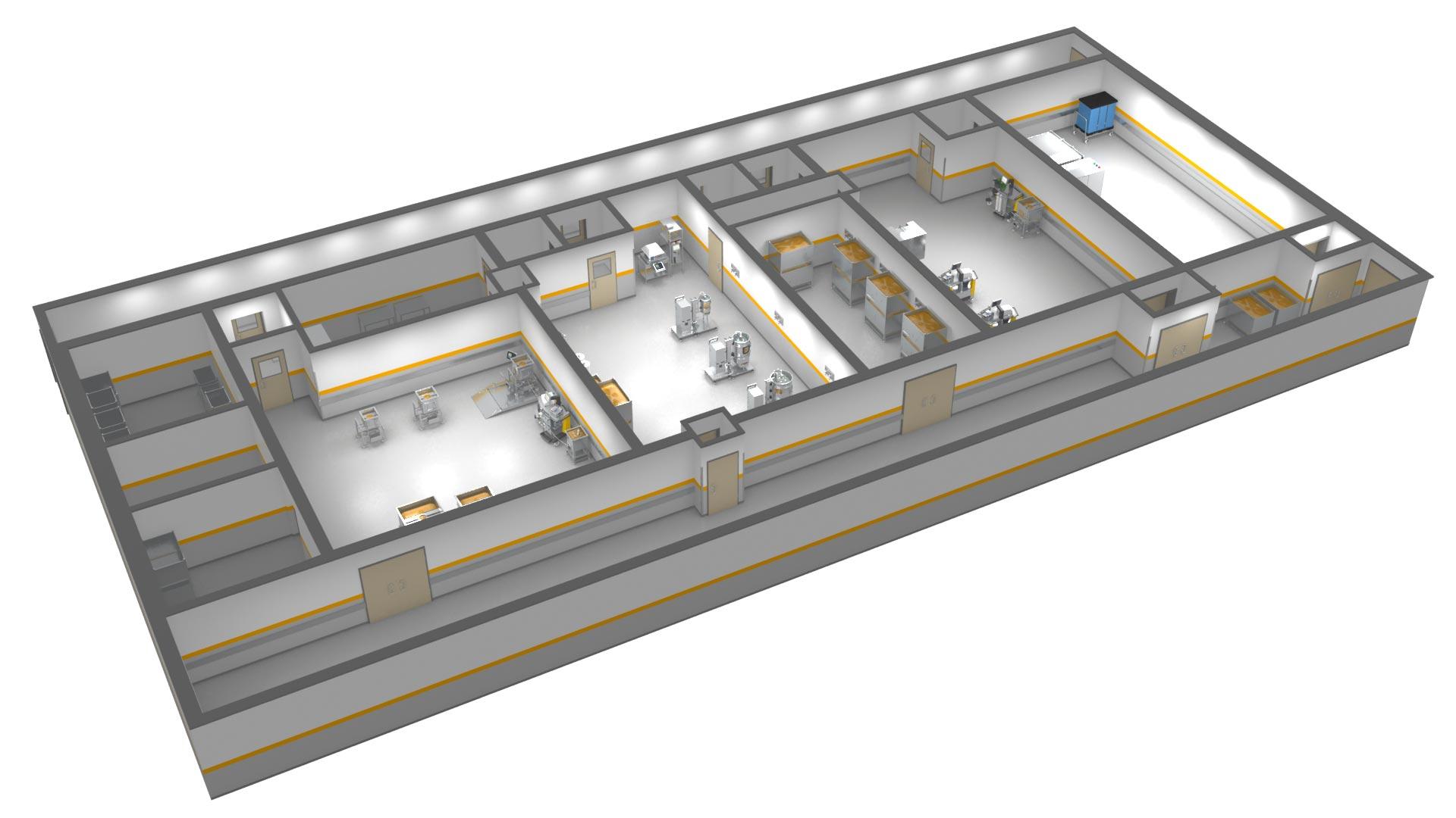 Übersicht Labor - 3D Animation