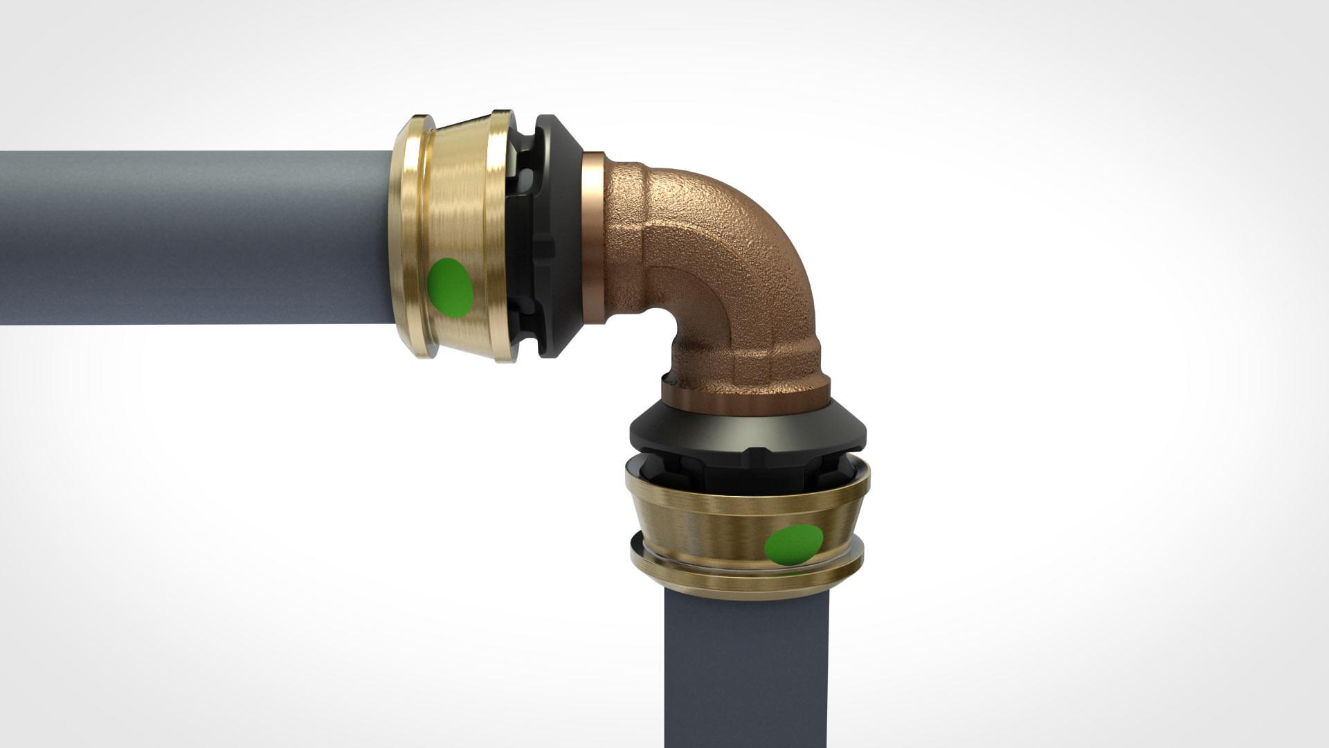 Verbindungsstück Wasserleitung