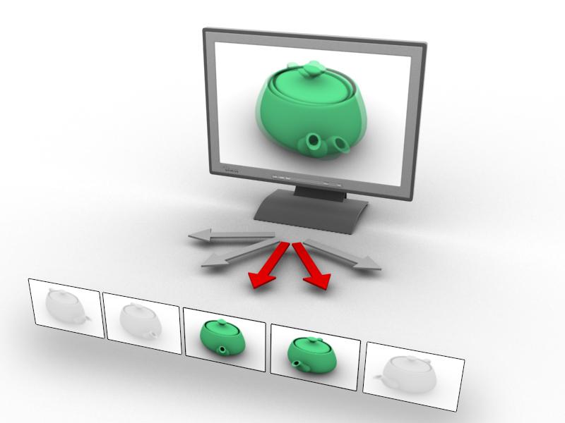 autostereoskopischer monitor big