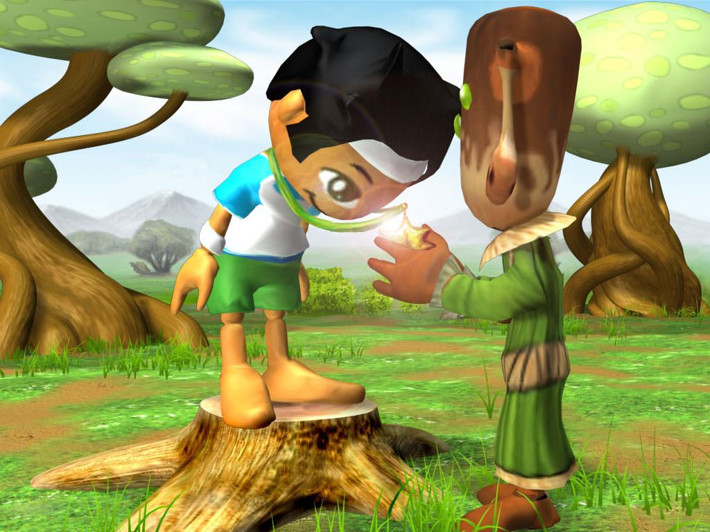 Cutscene Nintendo DS Spiel