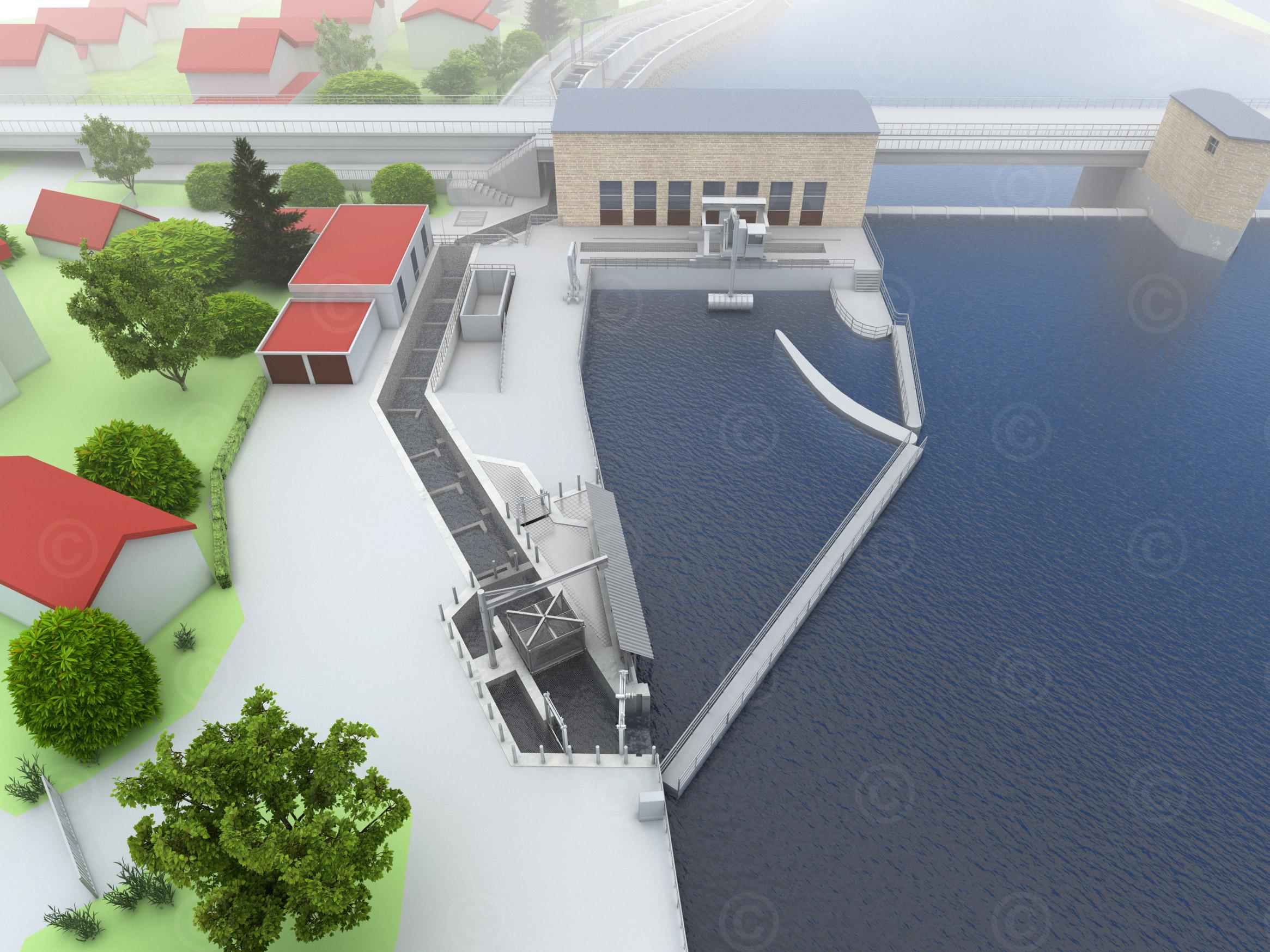 3d visualisierung lauffen oberwasser