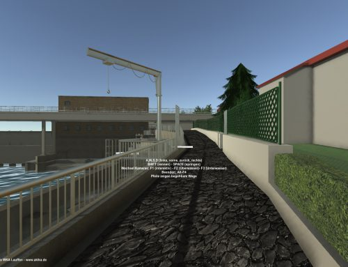 Interaktives Architekturmodell – App und VR