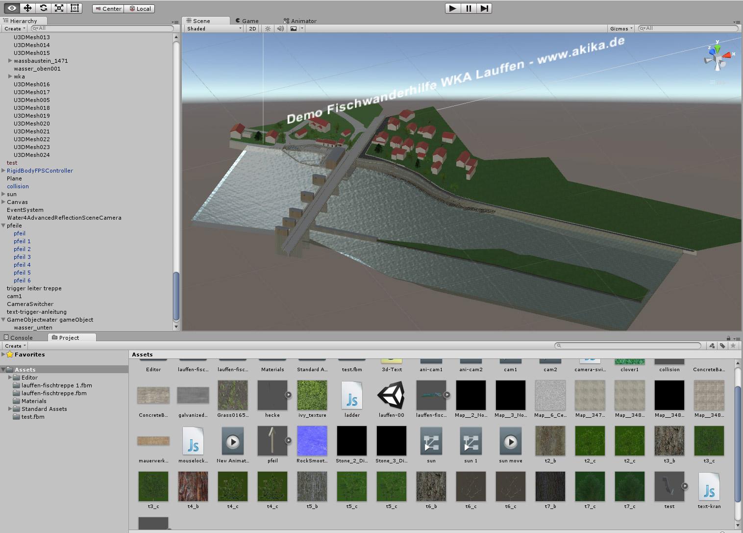 unity3d Anwendung