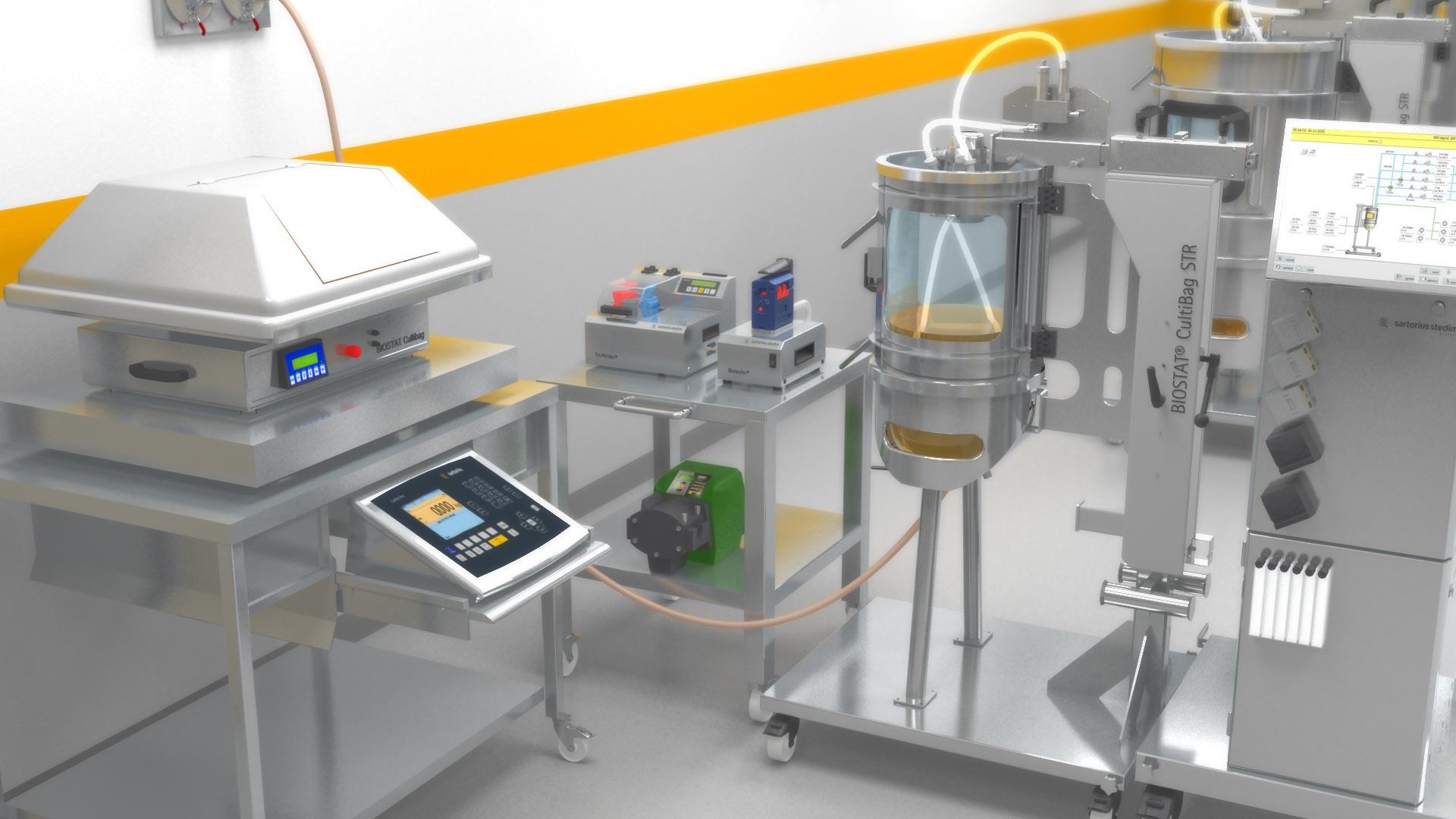 Medizinische Geräte Labor