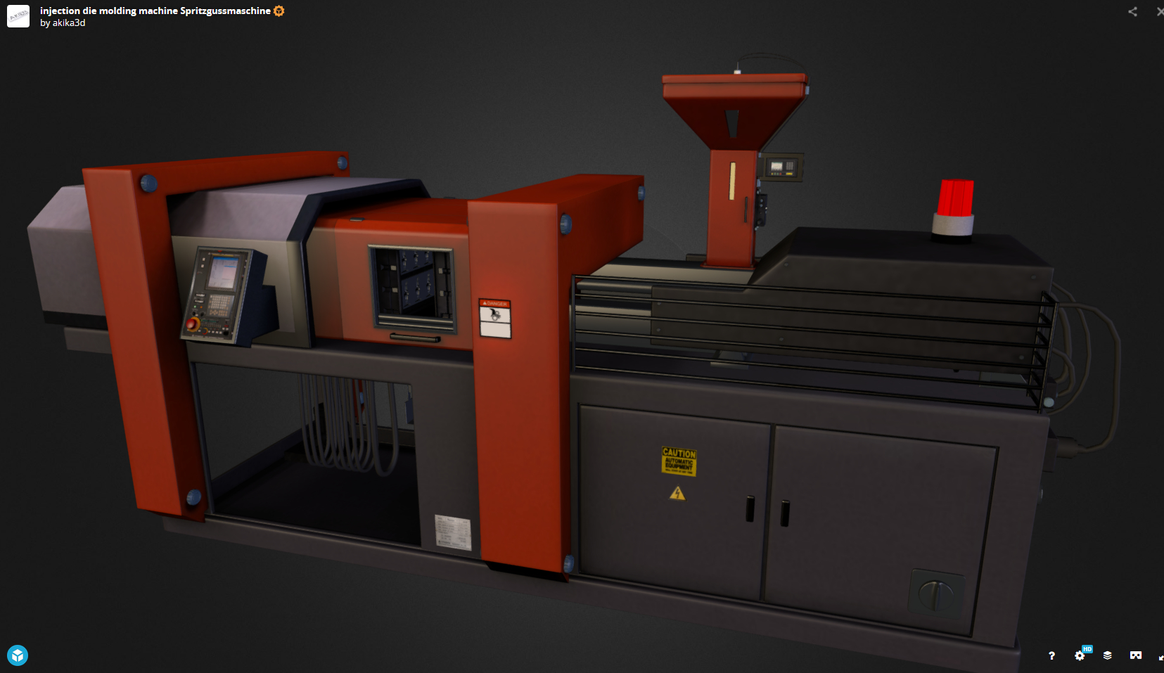 Spritzgussmaschine-webGL